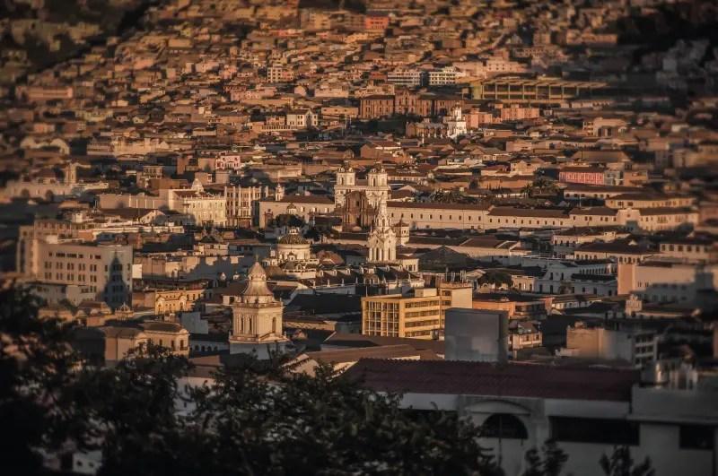 Centro histórico de Quito. (Foto: divulgação)