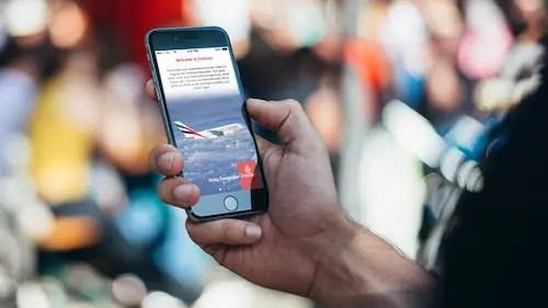 Emirates lança aplicativo para celular em português