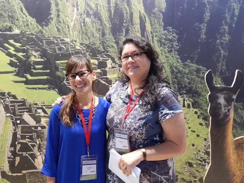 Mais capacitação e bons números no estande do Peru