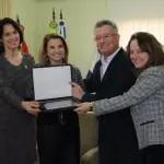 Marta Rossi recebe título deEmbaixadora do Turismo de Garibaldi – RS