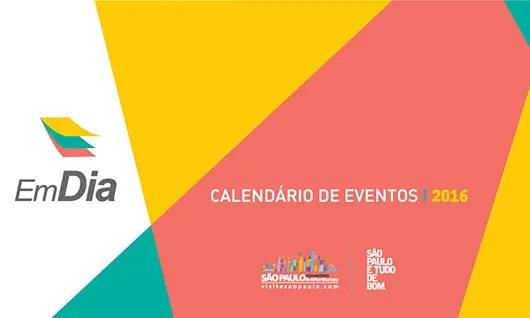 SPCVB lança calendário de eventos 2016