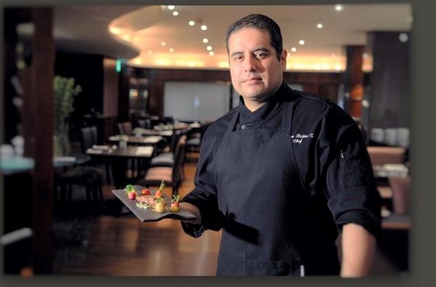 Juan Rojas, chef do InterContinental São Paulo, participa da Semana Mesa São Paulo 2015