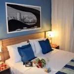Comfort Hotel Santos tem pacotes para noite de núpcias