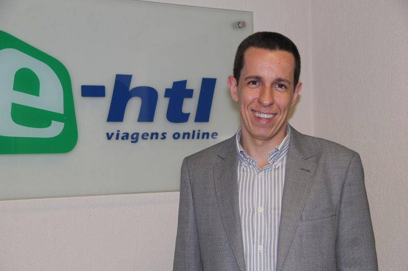 """Flávio Louro, da E-HTL: """"temos uma prateleira diversificada, mas não nos envolvemos com aéreo"""""""