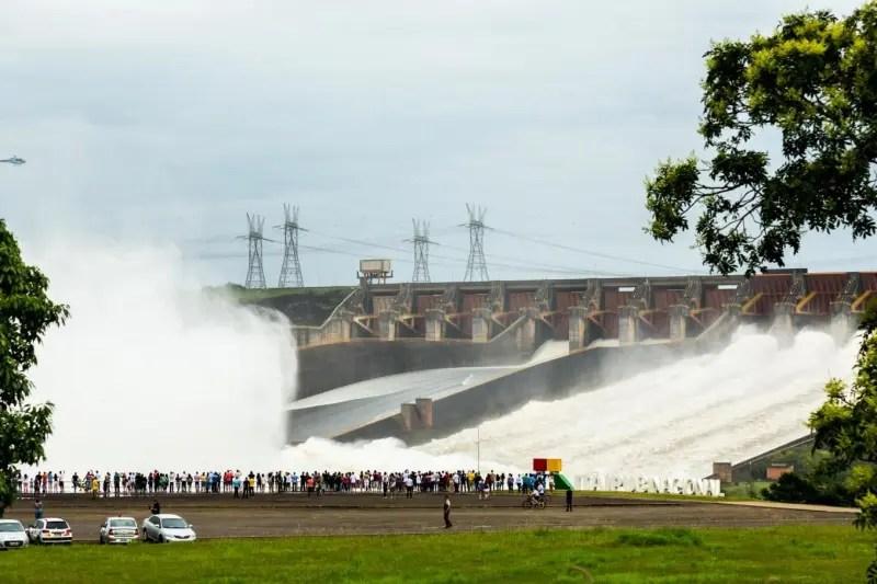 Até às 17h do último domingo (22), mais de 10 mil pessoas passaram pela atração (Foto: Itaipu)