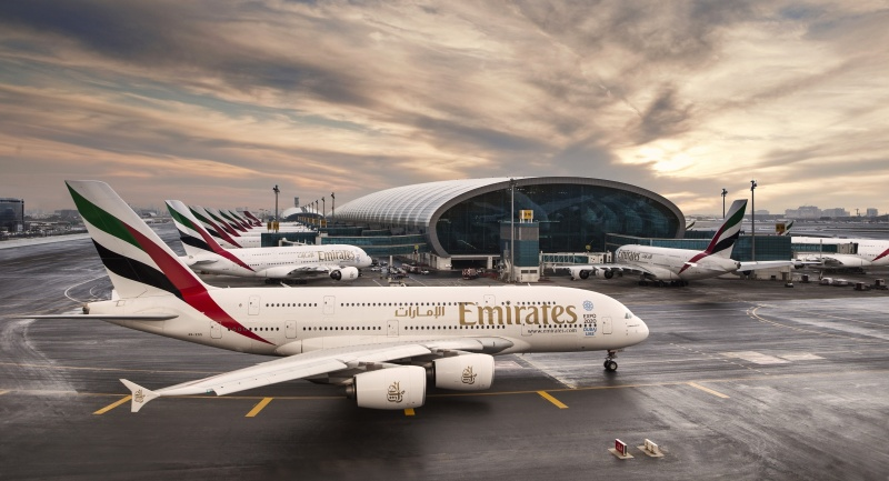 Grupo Emirates anuncia lucro recorde de US$ 2,2 bilhões