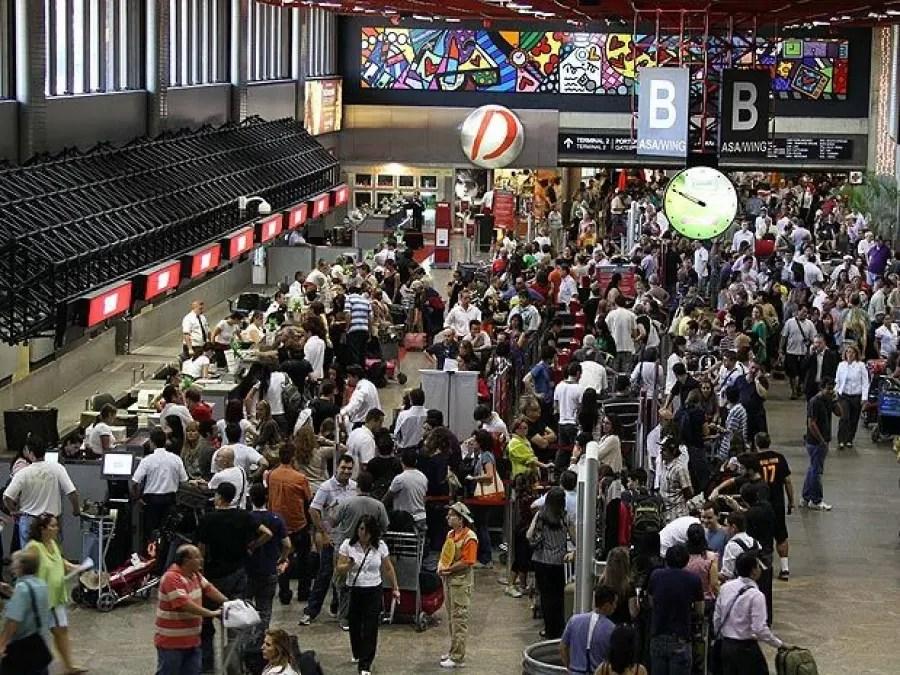 Aeroportos devem receber mais de 21 milhões de passageiros na alta temporada