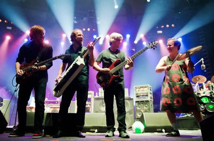 Barceló Maya Beach Resort realiza festival com a banda de rock Phish