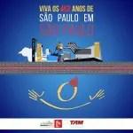 SPCVB e TAM se unem para aniversário de São Paulo