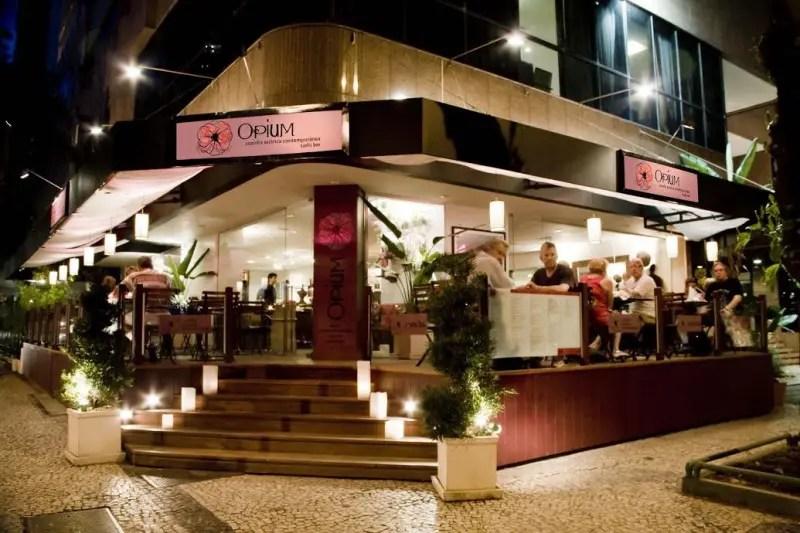 Asiático Opium, do Ipanema Plaza Hotel, lança menu de petiscos para o carnaval