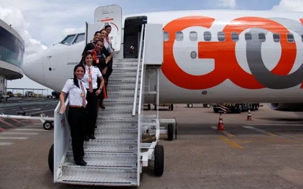 Mulheres no comando em voo da GOL
