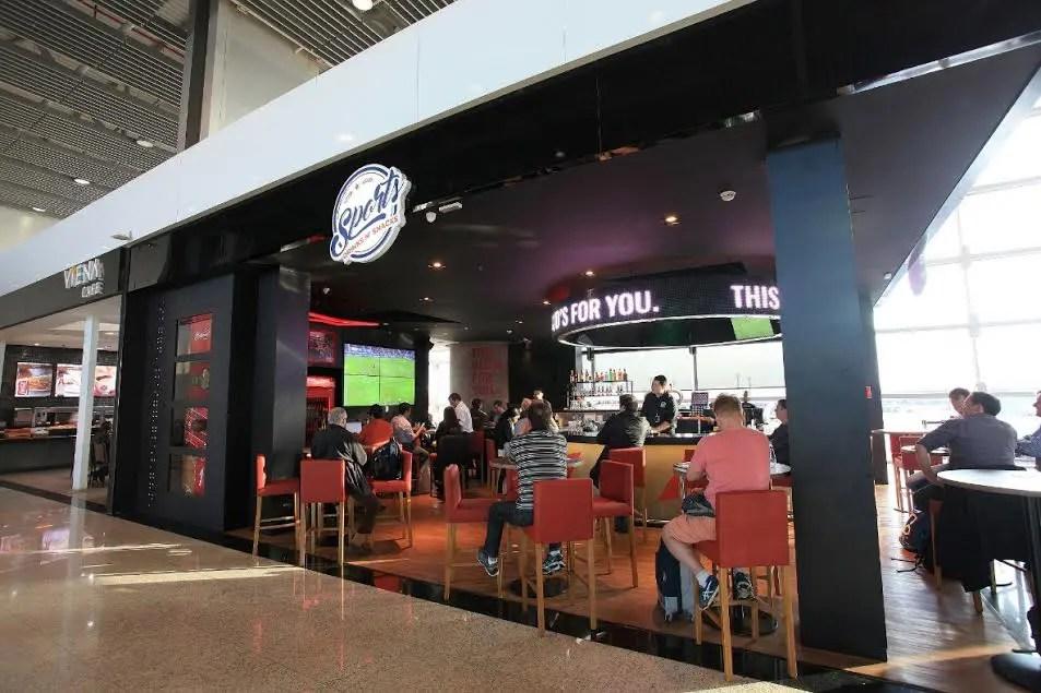 Sports Bar é inaugurado no Aeroporto Internacional de Guarulhos