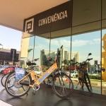Athos Executive, em Brasília, disponibiliza bicicletas para hóspedes alugarem