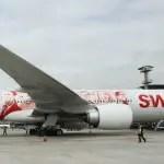 SWISS vai voar com o novo Boeing 777-300ER durante os Jogos Olímpicos
