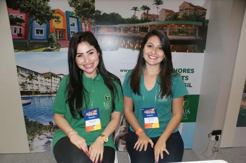 A rede Tauá está representada por Renata de Lucca, sua gerente de vendas, e Paula Pavão, gerente de contas