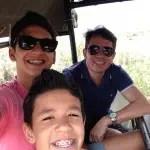 Gelson Popazoglo e filhos: Testemunhas VIPs