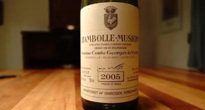 O vinho Chambolle-Musigny 2009 Domaine Ropiteau será oferecido. (Foto: divulgação)