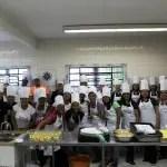 Chefs Meliá dão aula a alunos de gastronomia da Aldeia do Futuro