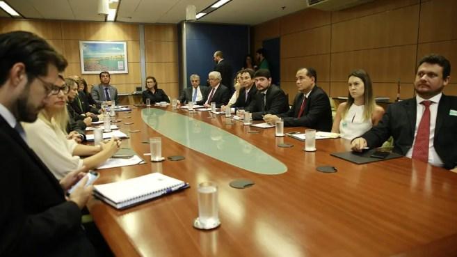 Secretários de turismo e comunicação dos estados amazônicos em Brasilia. (Foto: Aerton Junio)