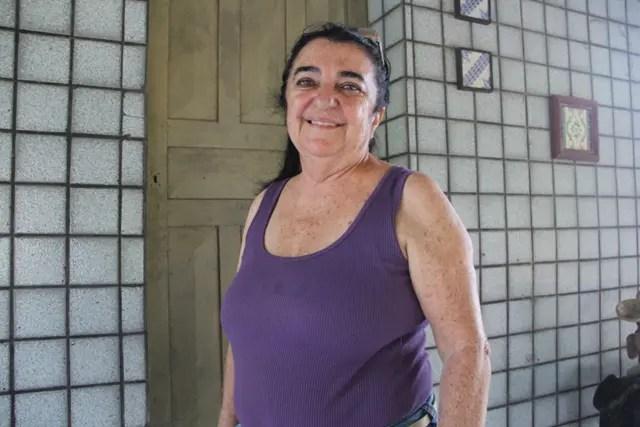 Eva Abufaiad cuida para que sua propriedade permaneça intocada e seus animais preservados