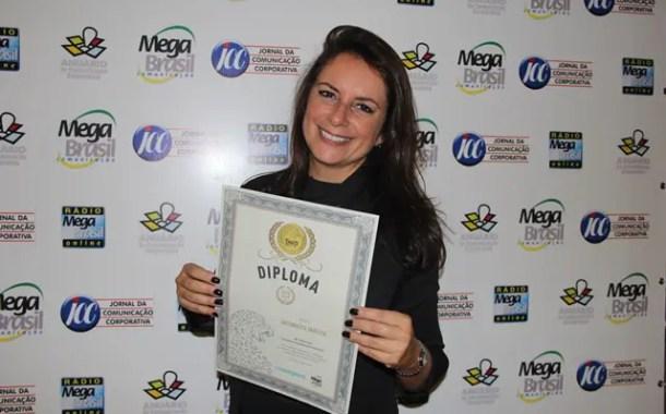Antonietta Varlese é Top 10 do prêmio Mega Brasil de comunicação corporativa