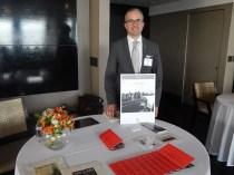 Nico Fournier, diretor assistente de Vendas do The Surrey, de Nova York (Foto: Marcos Oliveira)