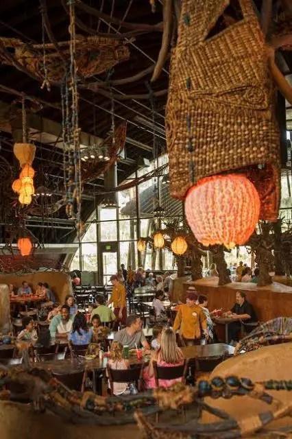 Restaurante Satu'li Canteen, do Mundo de Avatar (Foto: divulgação)