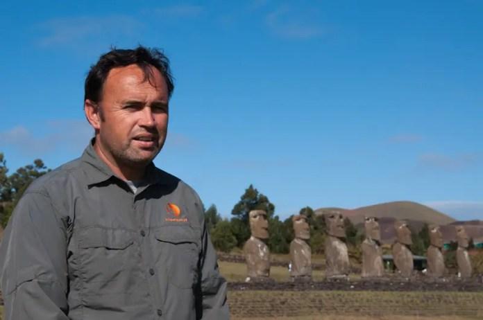 Roberto Rinco, um integrante do conselho dos Honui