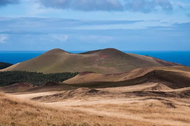 Cavalgada ao vulcão Terevaca, topo da ilha de Páscoa