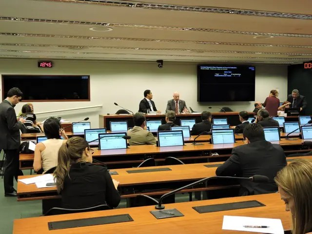 A reunião ocorreu na Câmara dos Deputados, em Brasília (Foto: divulgação)