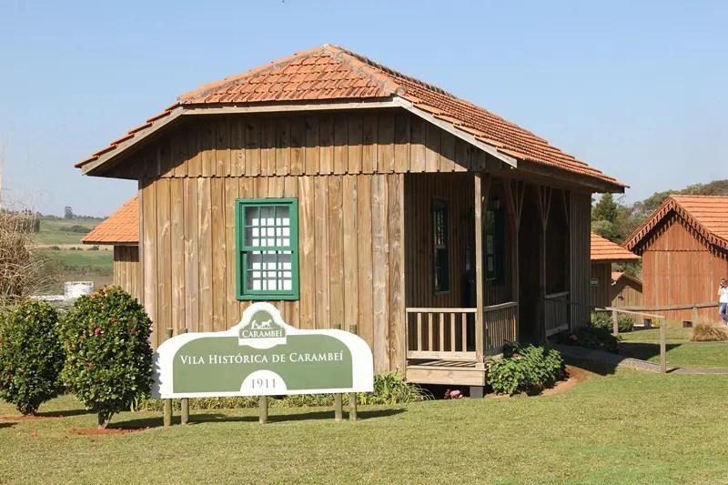 Em 2011 – ano de comemoração do centenário da imigração dos holandeses nos Campos Gerais - foi inaugurado o complexo Parque Histórico de Carambeí (Foto: DT)