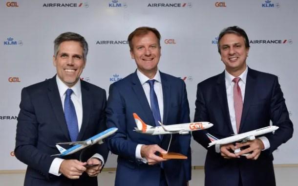 Air France-KLM e GOL divulgam hub em Fortaleza