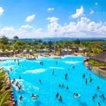 Thermas Water Park é atração para moradores da capital paulista