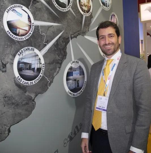 Bruno Heleno, gerente geral Corporativo de Vendas e Marketing da Rede Othon.