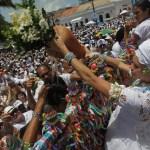 Lavagem do Bonfim é atrativo para turistas que visitam Salvador