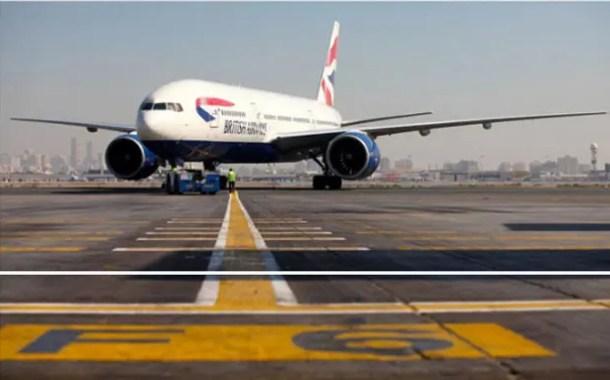 British Airways comunica mudança na taxa de now show para grupos
