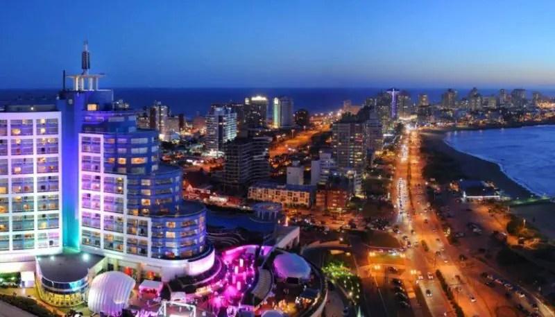 A cidade de Punta del Este abriga o maior Hotel Casino da América do Sul, o Conrad Punta del Este Resort & Casino
