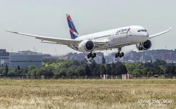 Tráfego de passageiros da Latam Airlines sobe 4,8% em fevereiro impulsionado por Brasil