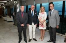 Bayard Boiteux, Conde Francisco Calheiros, Corina Poro e Maurício Matta