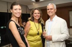 Patrícia Schavarosk, Idamara Schavarosk e Ricardo Cantarino
