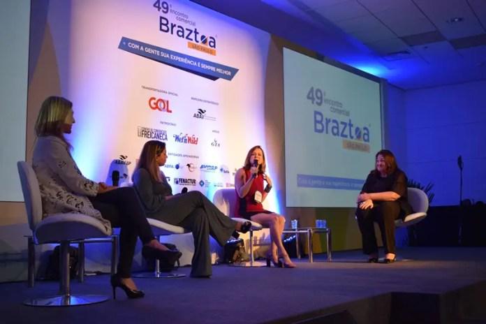 O evento contou com um painel de debates integrado por Sabrina Deweik, Sabrina Bull, Ana Donato e Magda Nassar
