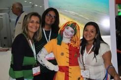 Emília, personagem marcante de Monteiro Lobato, escritor Brasileiro, fez sucesso com o público na WTM Latin America 2018.(Crédito: Ana Azevedo)