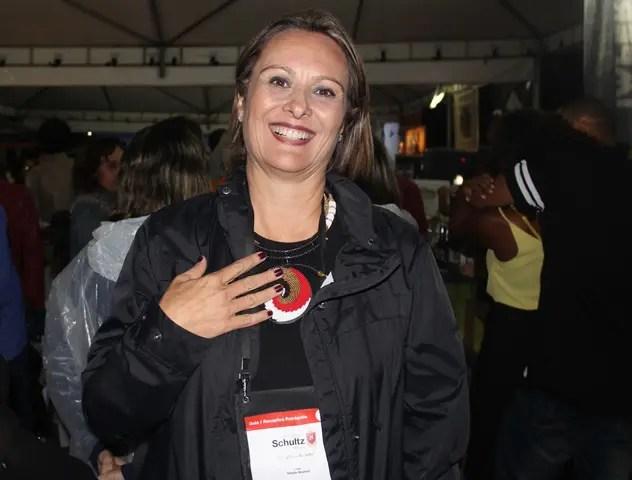 Gisele Goulart da G&G Turismo Receptivo - captadora e organizadora da Convenção (Fotos: DT)