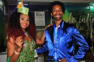 O Rio de Janeiro trouxe a beleza e a dança para a WTM Latin America 2018. (Crédito: Ana Azevedo)