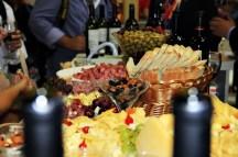estande do Chile, na WTM Latin America 2018, promoveu degustação de vinhos e acompanhamentos.(Crédito: Ana Azevedo)