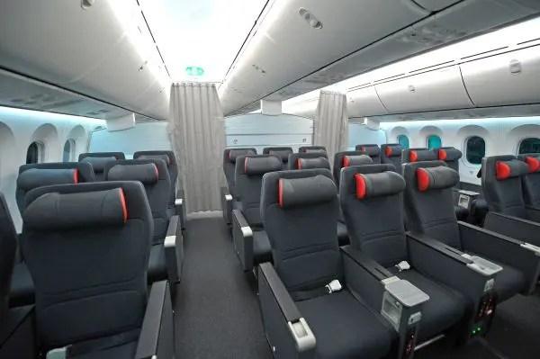Assentos da Premium Economy (foto: divulgação)
