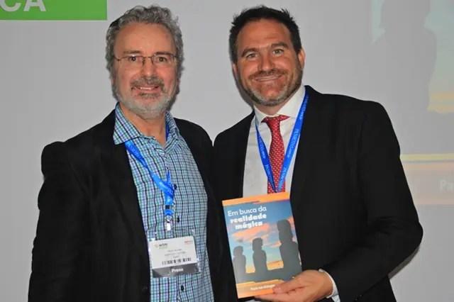 Paulo, com o secretário de Turismo de Jujuy, Diego Valdecantos