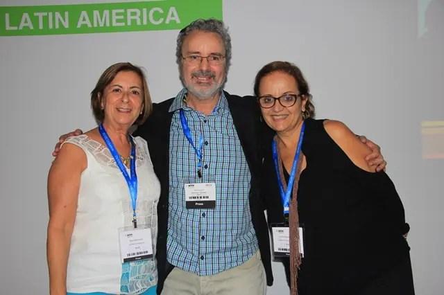 As amigas Nina Marciano e Ceci Fazzini prestigiaram o lançamento