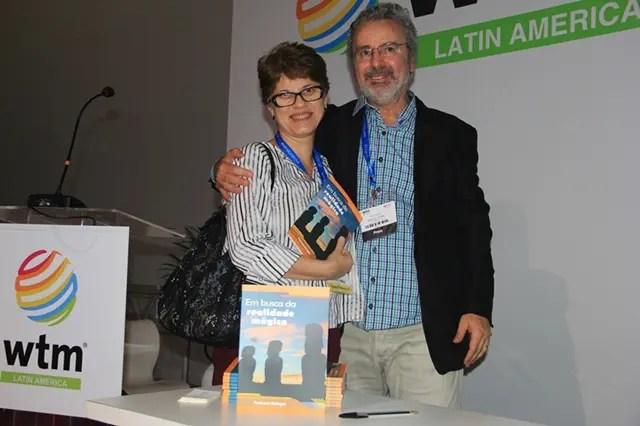 A amiga Márcia de Almeida do Instituto IHDI, marcou presença