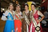 Representando Santa Catarina, as vencedoras do concurso Festa das Flores e Fenarreco embelezaram a WTM Latin America. (Crédito: Ana Azevedo)